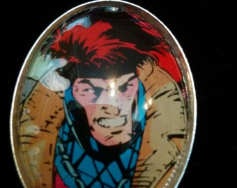 Marvel X-Men Gambit Large Pendant