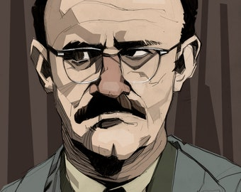 Gene Hackman in Francis Ford Coppola's The Conversation Art Print