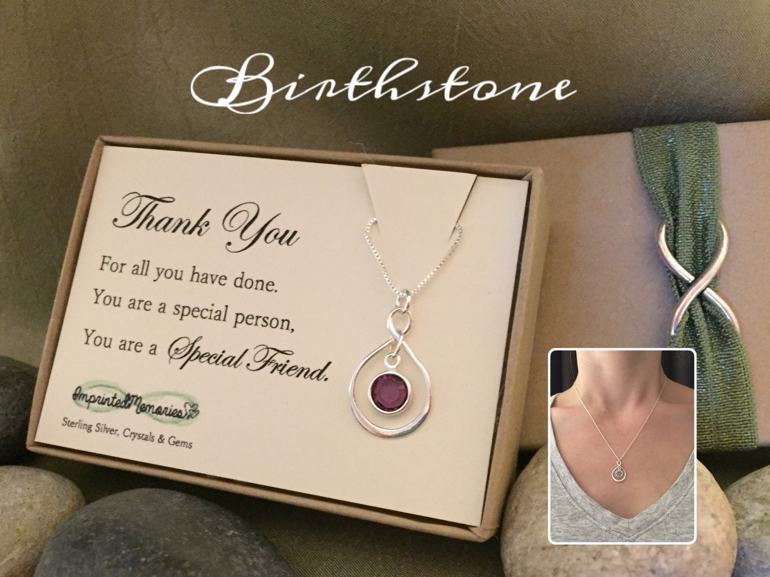 Thank You Gift For Friend Necklace For Friend Thank You For