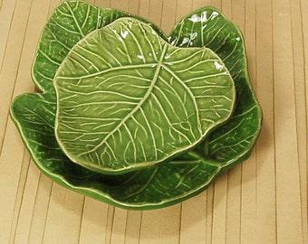 Barbara Eigen USA Pottery Leaves