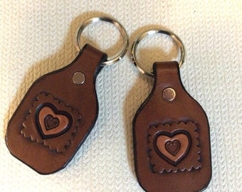 Canada Goose kids online cheap - Horse Keychain Leather key fob leather key by CLNleathercraft