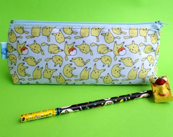 Cute Pokemon Pencil Case Zipper Pouch Bag Pen Box School Anime Pikachu