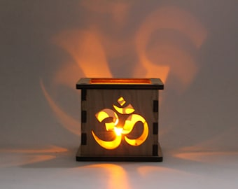 Om Symbol - Tea Light Holder