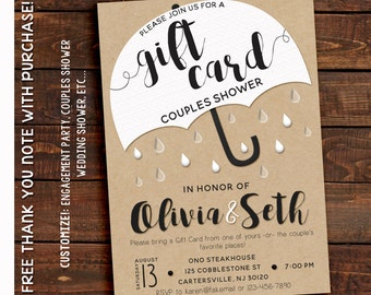 Couples Shower Invitation - Couples Shower Invitation Printable