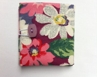 Teabag holder in Cath Kidston fabric