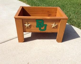 Baylor Cedar Planter Box