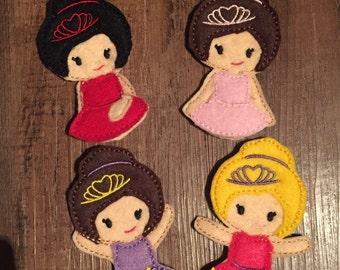 Ballet Finger Puppets, set of 4