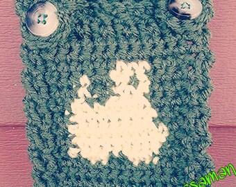 Crochet tractor overalls