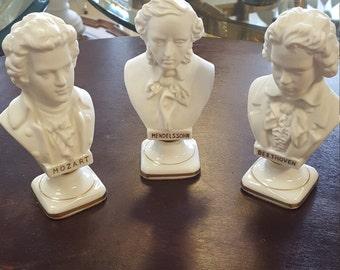 Ceramic Composer Busts