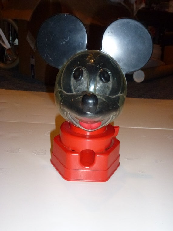 vintage mickey mouse gumball machine