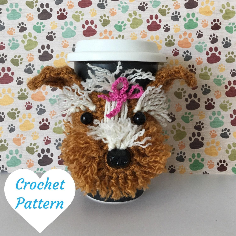 Crochet Dog Pattern Amigurumi Yorkie Pattern by HookedbyAngel