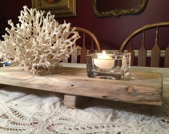 Very Cool Coastal Centerpiece Tray/Candle Holder