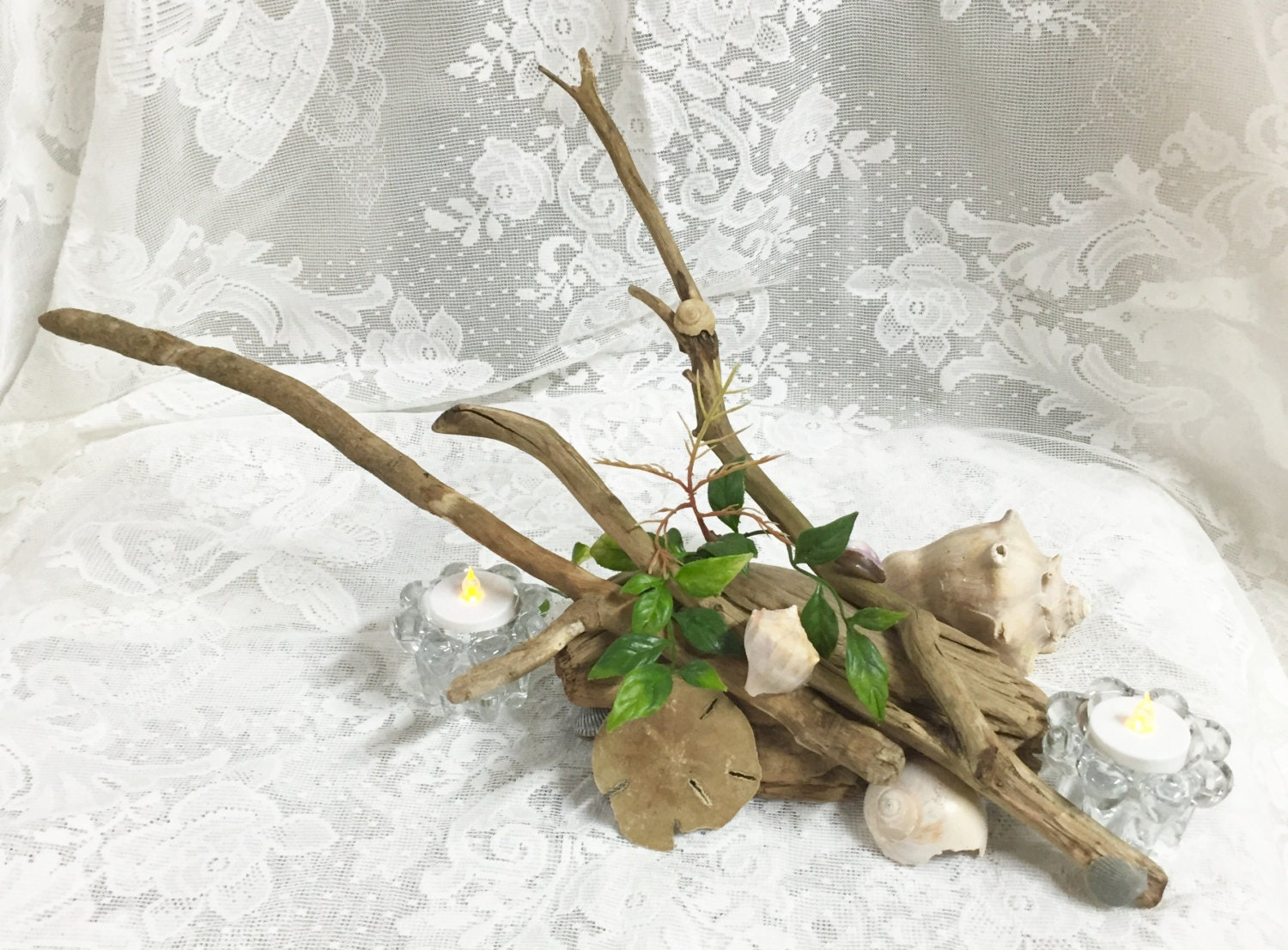 Driftwood Reception Table Centerpiece: Terrarium, Taxidermy ...