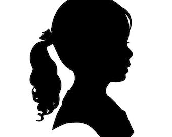 Custom Cut Handmade Silhouette Portraits