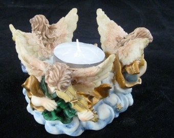 Angel Tea or Votive Light Display