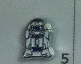 Star wars r2d2 floating charm