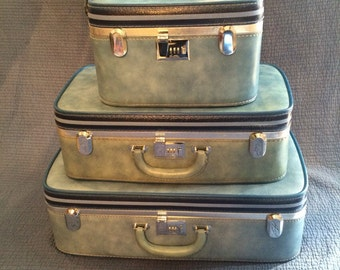 Vintage Ventura 3 Pc Luggage Set