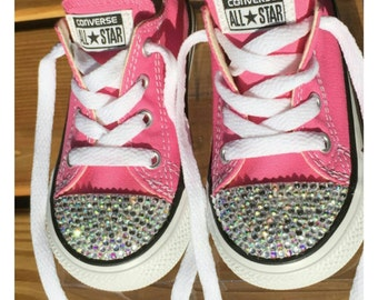 Twinkle Toes Embellished Converse