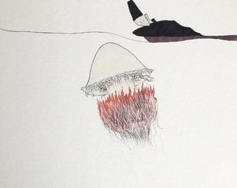 Nomura Jellyfish print