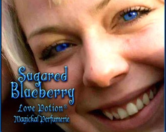 Sugared Blueberry SPRAY - Layerable Cologne Spray - 1 fl.oz. - Love Potion Magickal Perfumerie