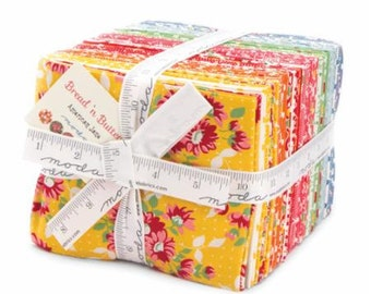Fat Quarter Bundle Bread and Butter by American Jane for Moda 21690AB-40 Fabrics