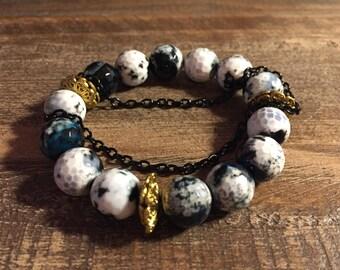 Semi Precious Gemstone Bracelet / Beaded Bracelets