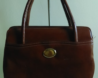 Vintage Brown Handbag.