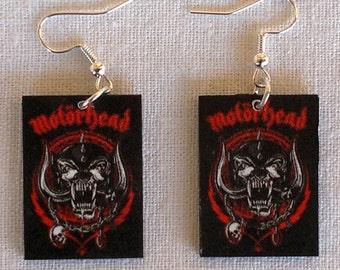 Motorhead Earings