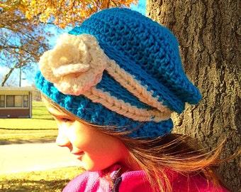 Crochet Child's Slouchy Hat