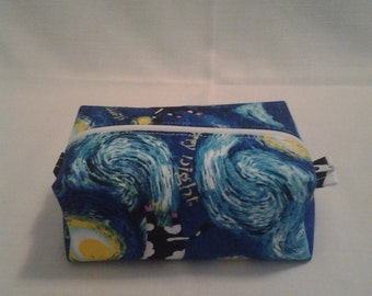 Starry cows mini pouch
