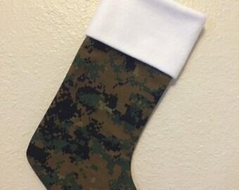 Military Christmas Stocking
