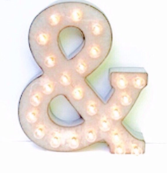 Wall Decor Light Up Letters : Marquee Letter / Marquee Light Up Letter / by LondonGraceBoutique