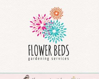 flower logo design floral logo design florist logo design gardening logo gardner logo lawn service logo premade logo photography logo