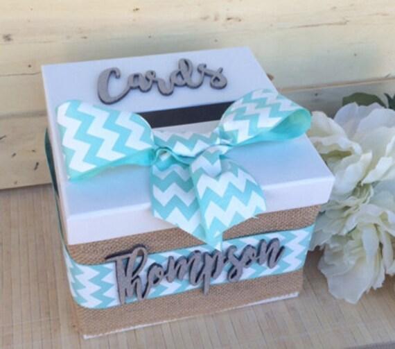 wedding card box, burlap card box, custom card box, custom wedding card box, rustic card box, personalized beach card box, wedding box