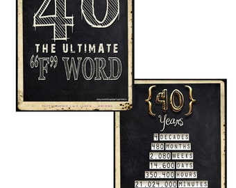 40th birthday decorations birthday party decorations 40th