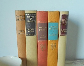 Vintage 1950's Book Bundle ~ Set of Five