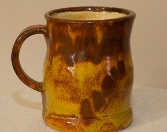 Wheel thrown Ceramic Coffee Mug