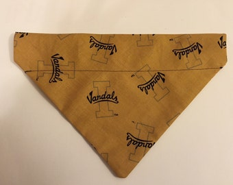 Dog bandana, Idaho Vandals