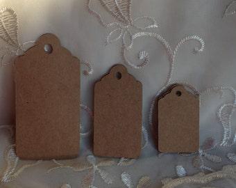 Tags, Kraft gift tags, Kraft rustic tags, Christmas Gift Tags. 3 sizes available.