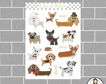 Dog Planner Stickers