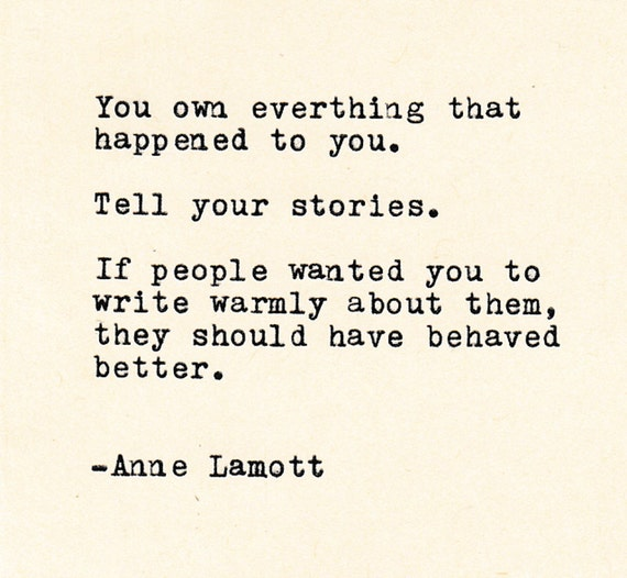 Persistence Motivational Quotes: Inspirational Quotes THE ANNE LAMOTT Quote Made On