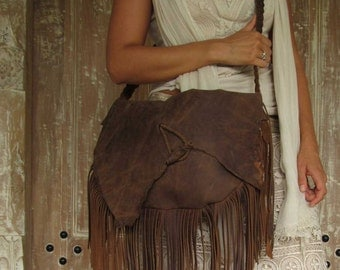 Handbag / Leather Handbag / Shoulder Bag / Boho Bag