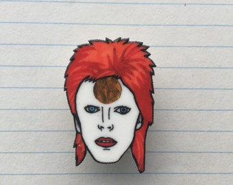 Ziggy Stardust badge