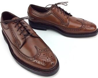 Florsheim Royal Imperial Brogue Wingtip Dress Shoes Sz. 9 B NEW