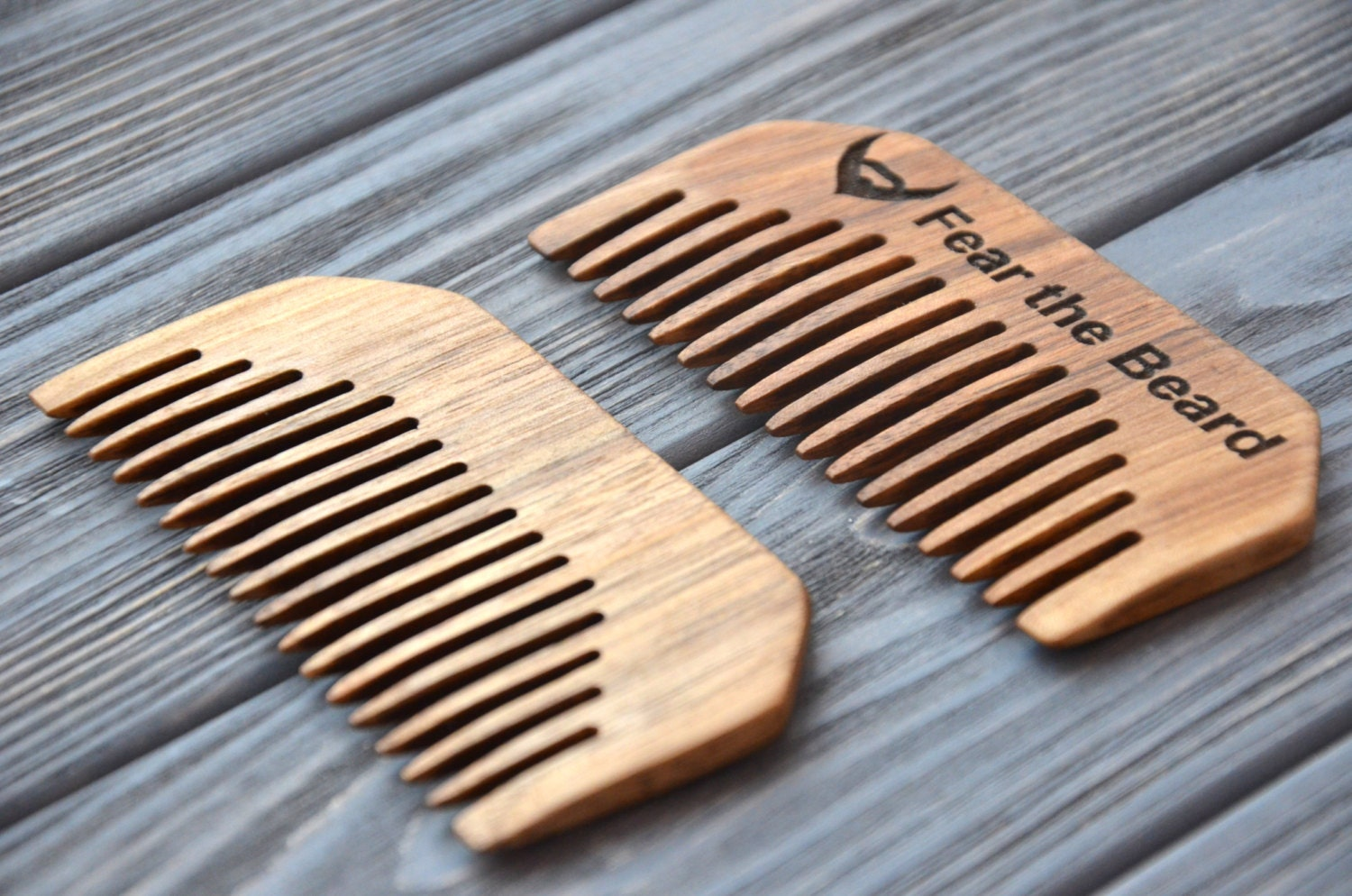 personalized beard comb custom engraved mustache by enjoythewood. Black Bedroom Furniture Sets. Home Design Ideas