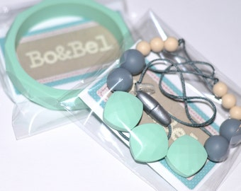 "Silicone Teething Necklace ""Enid"""