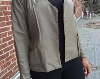 Equus leather jacket, size 10