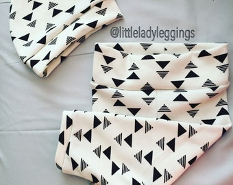 White triangles