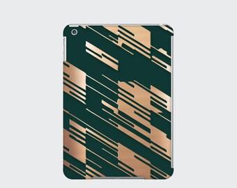 Houndstooth iPad Case Cover for iPad Mini iPad Air and iPad 2 3 and 4, Green