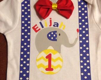 Carnival first birthday onesie, circus first birthday onesie